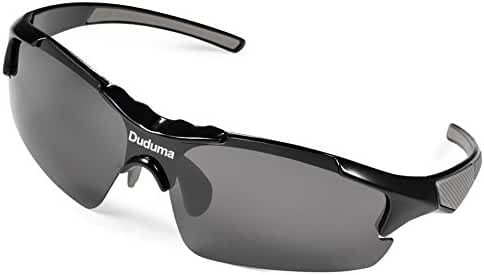 Duduma Polarized Casual Sports Sunglasses for Baseball Cycling Fishing Golf Tr46 Unbreakable Multicolor Frame