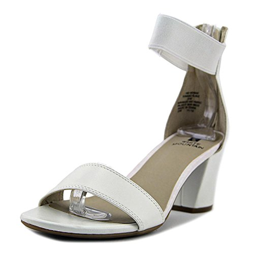Dress Sandals Navy Smooth Ankle smooth White Strap Elinie White Mountain YgOqI6