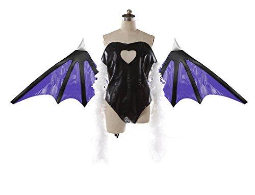 [No Brand Men's 2479Vampire Savior Morrigan Cosplay (XXXL)] (Morrigan Halloween Costume)