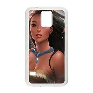Samsung Galaxy S5 White phone case Disney Cartoon Comic Series Pocahontas OYF3130046