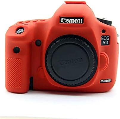 Zakao - Funda para cámara Digital Canon EOS 5D Mark III (Silicona ...