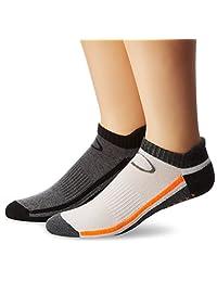 Copper Fit unisex-adult standard Low Cut Gripper Socks - 2 Pack