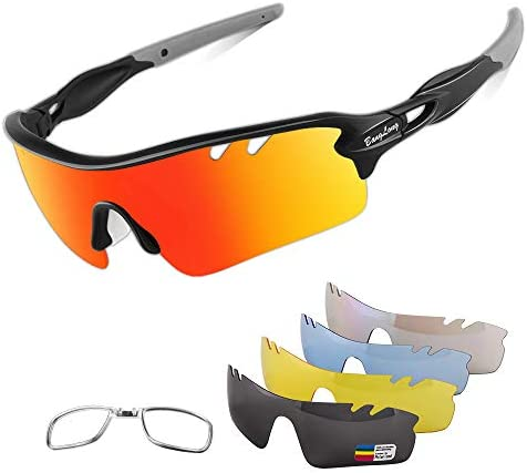 Polarized Sunglasses Cycling Interchangeable Baseball product image