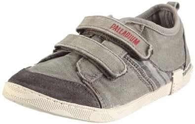 Palladium DOCK CVS 72174 - Zapatillas de lona para niño, color gris, talla 32