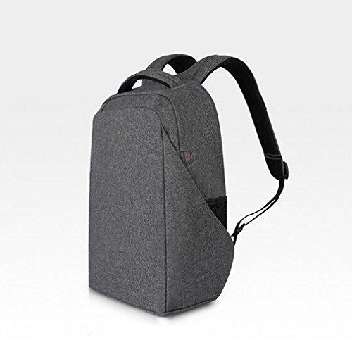 4781535f1e ... zaino della tela di canapa borsa del libro del computer portatile zaino  ...