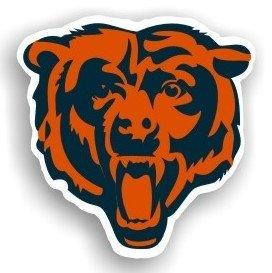 Chicago Bears 12'' Logo Car (12 Logo Car Magnet)