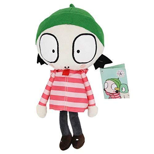 Mazeshop Sarah and Duck - 10 inch Sarah Stuffed Plush Doll