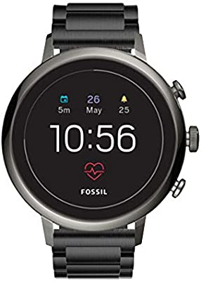 Kartice Compatible con Fossil Gen 4 Q Ventrue HR Band, 18 mm ...