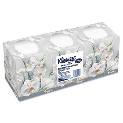 Kleenex 21200 Facial Tissue, 2-Ply, Pop-up Box, 95/Box, 3 Boxes/Pack