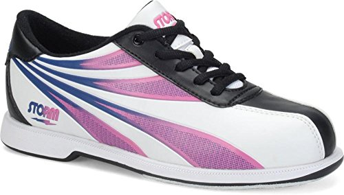 Storm Skye Women's Bowling Shoes, White/Black, 7.5