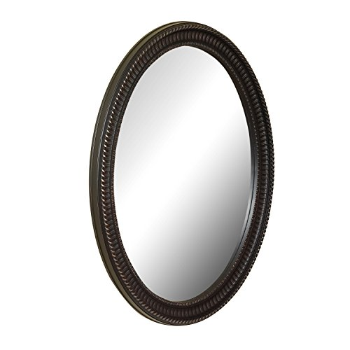 Venetian Bathroom Vanity (American Pride 9530VEN Middleton Decorative Framed Oval Mirror, 25 x 31