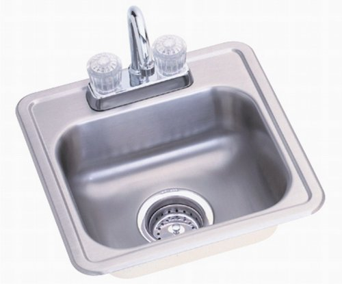 Compartment Stainless Steel Bar Sink - 8