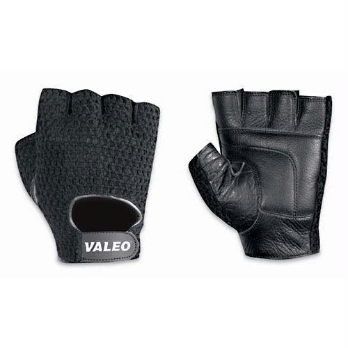 Valeo VA4575LG Meshback Lifting Glove, Large, Leather, Black