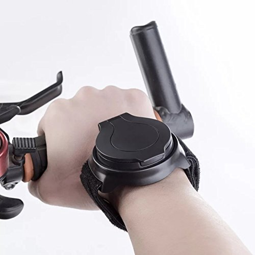 KANGBUKE Bike Mirror, Wrist Mirror Bike Rear View Mirror Collapsible 360 Degree Adjustable Bicycle with Elastic Armband Portable Biking Accessories for Cyclists Mountain Road Bike Riding Cycling by KANGBUKE (Image #3)