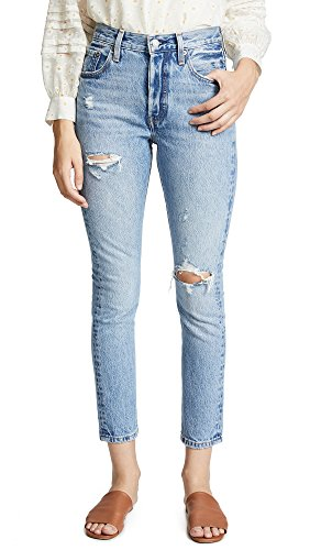 Levi's Women's 501 Skinny Jeans, Can't Touch This, Blue, 24