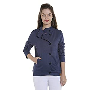 Campus Sutra Women's Regular Fit Cotton Jacket