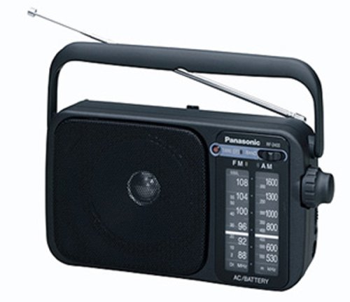 Panasonic 2400EB-K Portable Radio by Panasonic
