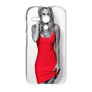 Celebrities Kaley Cuoco In Red Dress Motorola G Cell Phone Case White&Phone Accessory STC_032507