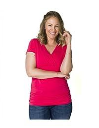 Momzelle Women's Breastfeeding & Maternity Julie Nursing T-Shirt