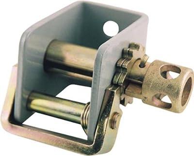 "Erickson 52804 2"" Narrow Body Winch with Spring Loaded Locking Bar, 10000 lb Load Capacity"