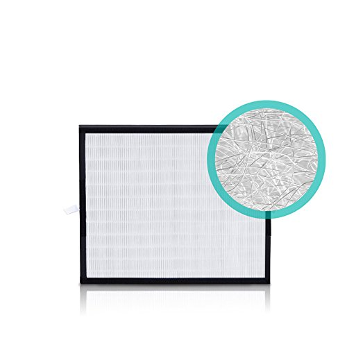 Alen (BF25A-Silver) HEPA-Silver Replacement Filter for A350 and A375 Air Purifiers, 1-Pack