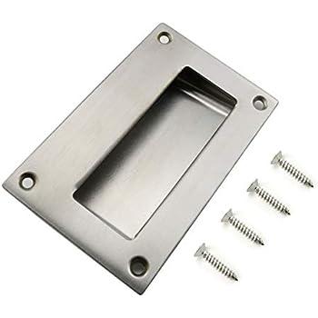 Heyous 1pc 5x3 2 Inch Hidden Recessed Pull Handle
