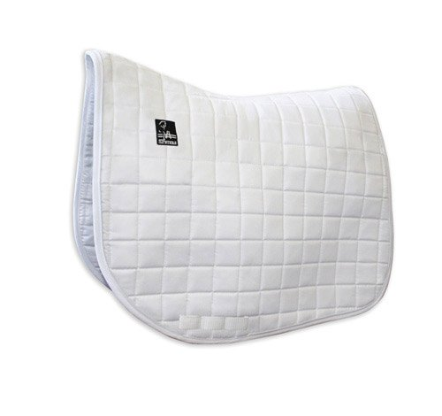 Steffen Peters by Professionals Choice 22X26 Equine Dressage Show Pad (White)