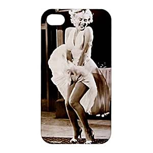 SUUER Rubber Silicone Custom Marilyn Monroe Skin Personalized Custom Rubber Tpu CASE for iPhone 5c 5c Durable Case Cover