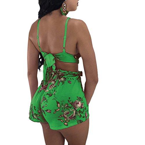 Donna Estiv Junkai Verde Costume Bagno Pezzi Bikini 2 Da 0FxnwE6F