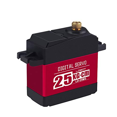 LewanSoul LD-25MG Full Metal Gear Standard Digital Servo with 25kg High Torque