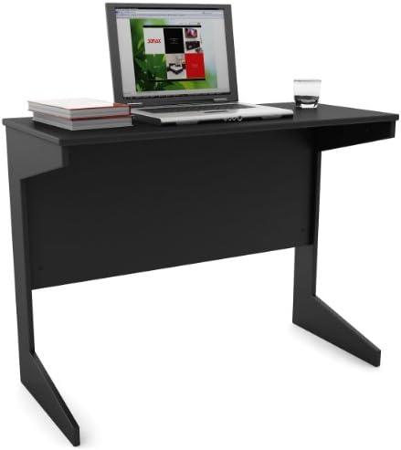 Sonax Slim Workspace Desk, Midnight Black