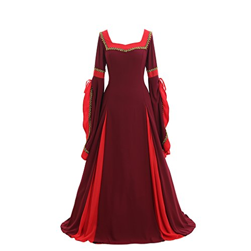 Arwen Dress Adult Costumes (Cosplaydiy Women' s Cosplay Renaissance Medieval Princess Gown L)