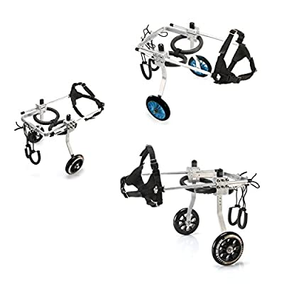 Anmas Sport Adjustable Dog Pet Wheelchair, Hind Legs Rehabilitation