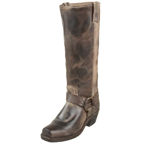 Frye Womens Harness 15r Boot Chocolate Vintage Leather-77324