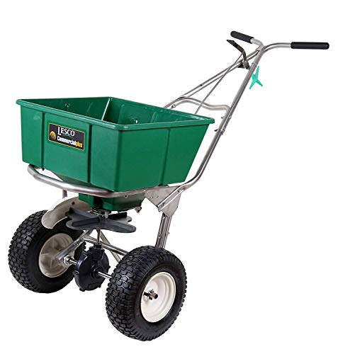 Lesco High Wheel Fertilizer Spreader with Manual Deflector - 101186 - Replaces 091186