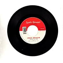 """I Want to Live=b/w= Same=7"""" 45 Rpm Record"""