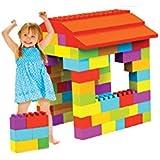 Couleur garden - Boîte de 121 briques géantes de construction