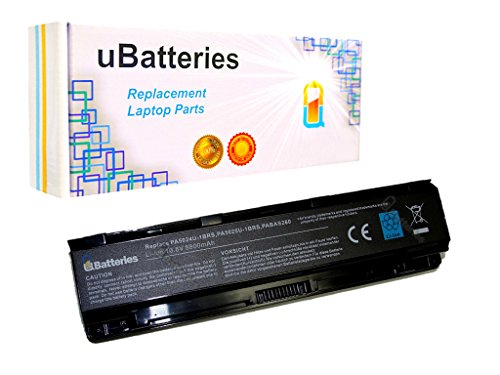 UBatteries Compatible 96Whr Extended Battery Replacement For Toshiba Satellite P800 P840 P840-B P840t P840t-S P845 P845t P850 P850-B P850-S P855 P855-S P870 P870-B P870-S P875 P875-S Fits PA5024U-1BRS