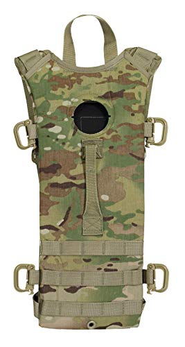 - Mcguire Gear Tactical MOLLE Hydration Pack, Holds 3 Liter Bladder (Sold Separately), Great for Hiking, Cycling, Camping, Running, Hunting (Multicam)