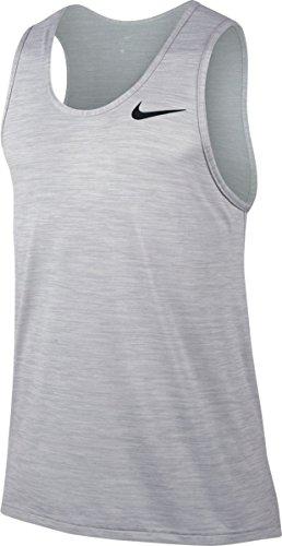 T shirt Gris Loup Manches Brt Tank Nike Blanc Homme Dry Hpr M Nk Sans blanc Noir p0qxwYSf