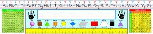Carson Dellosa Traditional Manuscript: Grades 1-3 Nameplates (124001)