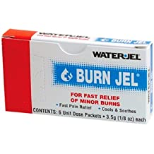 Water-Jel Technologies 3.5 Gram Unit Dose Packet Burn Jel Topical Gel (6 Per ...