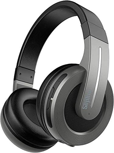 Sephia S6 Over Ear Wireless Bluetooth Headphones for iPhone, Ipad, iPod, Smartphones, Laptops, Tablets and Computers
