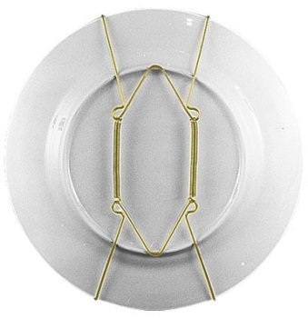 Plate Hanger For Collector Plates. Holds 7
