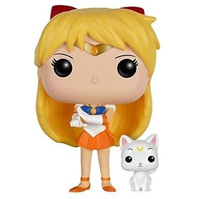 Funko POP Anime: Sailor Moon - Sailor Venus with Artemis Action Figure: Funko Pop! Animation:: Toys & Games