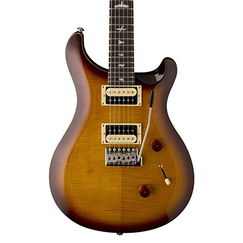 PRS Paul Reed Smith SE Custom 24 Electric Guitar with Gig Bag, Tobacco Sunburst