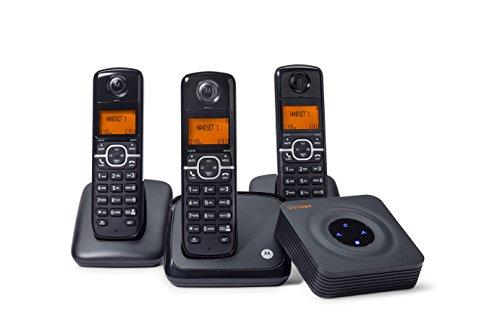 Vonage HT802-CVR Service Plus Cordless Phone System by Vonage