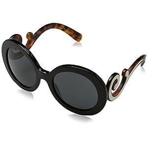 Prada Women's 0PR 08TS Black/Gray Sunglasses