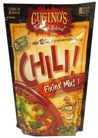 Cugino's Chili Fixin's 7.5 Oz Packets (Pack of 4)