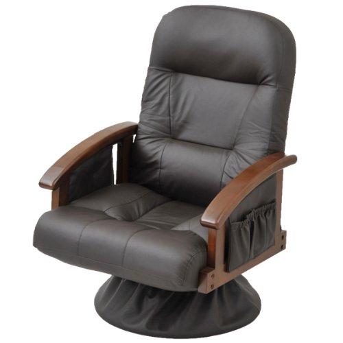 山善(YAMAZEN) 組立て要らず 回転式 立ち上がり楽々高座椅子 RHK-62(DBR) B003VIW0V0 Parent